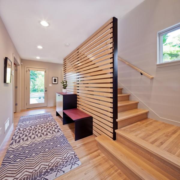 Treppenhaus Wandgestaltung Modern: Wandgestaltung Im Treppenhaus,  Wohnzimmer Design