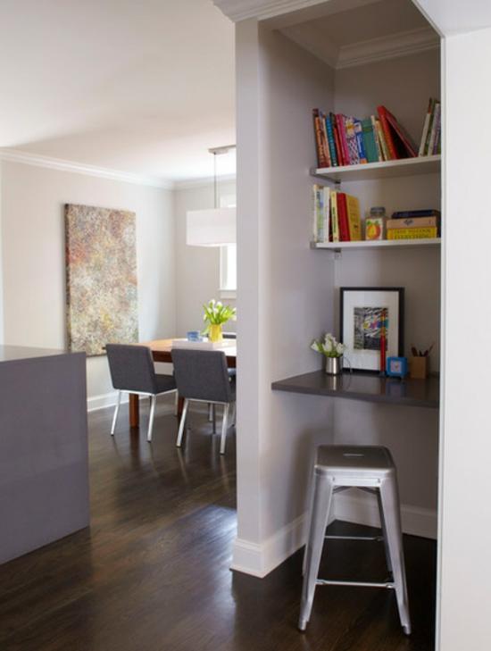 download wohnwand mit schreibtisch wohnzimmer einrichtung buero, Wohnzimmer