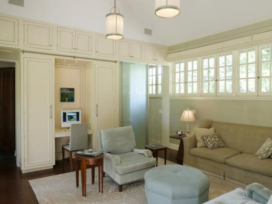 kleines heimbüro einrichten - 10 inspirierende ideen, Wohnzimmer