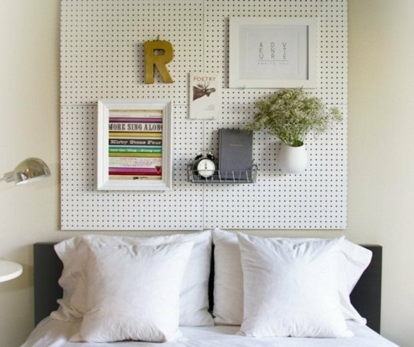 12 Ungewöhnliche DIY Ideen Für Bett Kopfteil ...