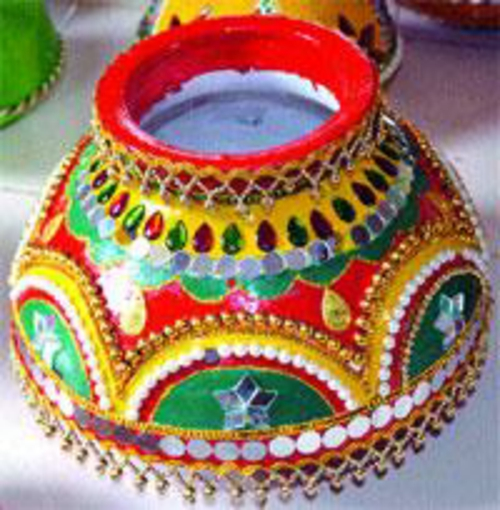 originelle blumentöpfe indischer stil