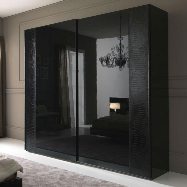 kleiderschrank mit schiebet ren originelle vorschl ge f r ihr zuhause. Black Bedroom Furniture Sets. Home Design Ideas