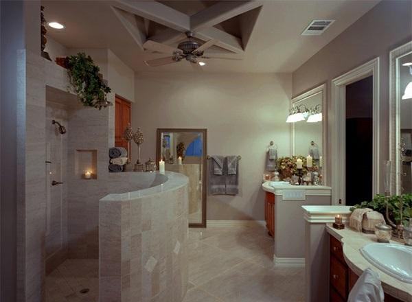 Good Badezimmer Fliesen Beispiele Badezimmer Mediterran Wohnzimmer Design  With Badezimmer Mediterran