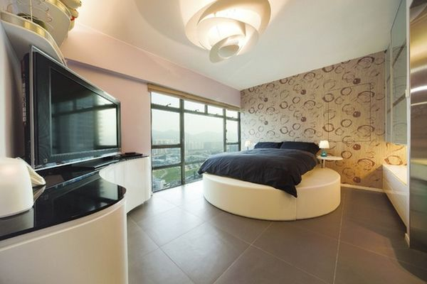 Ein Rundbett Im Schlafzimmer Pro Und Conrta