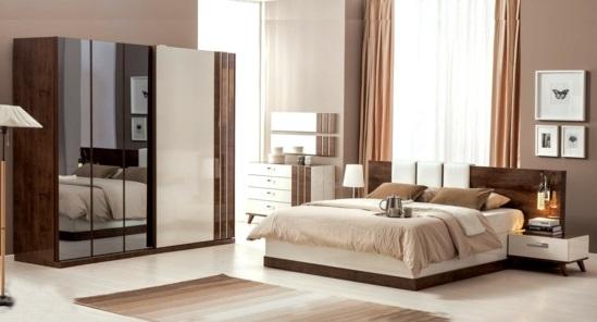 modern trends 2014 Garderobe fürs Schlafzimmer warm ambiente
