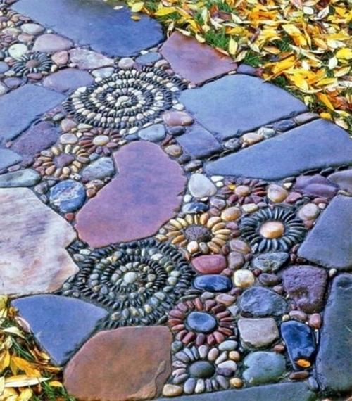Mosaik im garten 13 bezaubernde designs mit schwung for Mosaikbilder selber machen