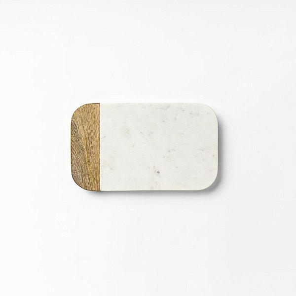 natürliche Materialien und Stoffe im Innendesign marmor holz