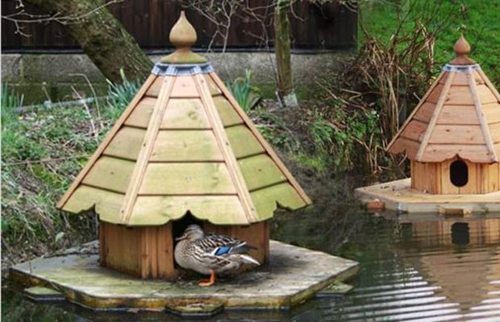 schicke vogelhäuser fernöstlich entenhaus