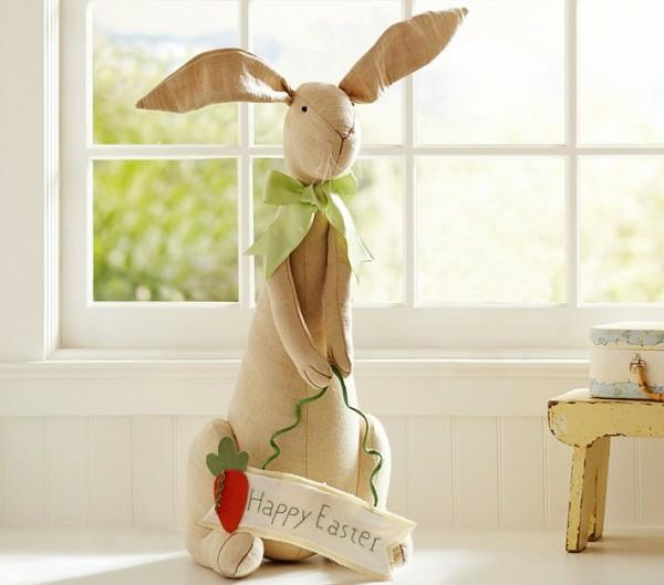 Coole osterdeko ideen mit osterhasen und bunten ostereiern for Wohnung dekorieren ostern