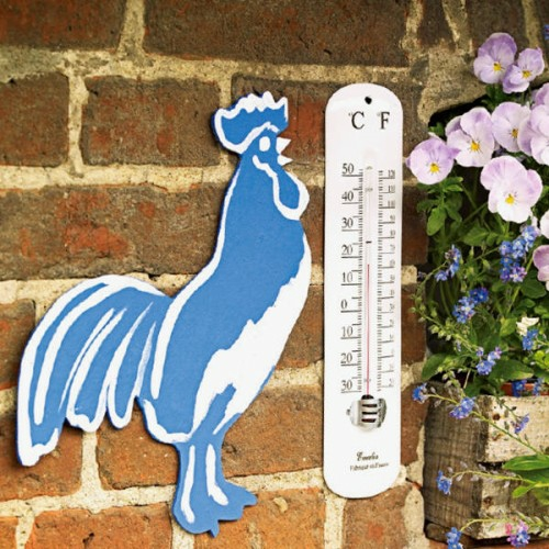 ostern deko 2014 ostereier hahn thermometer