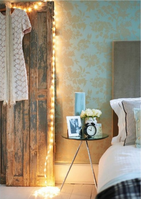 chestha | lichterkette dekor schlafzimmer, Deko ideen
