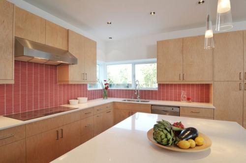 Rote Küchenrückwand Hinreißende Küchenideen - Küchenrückwand mosaik fliesen