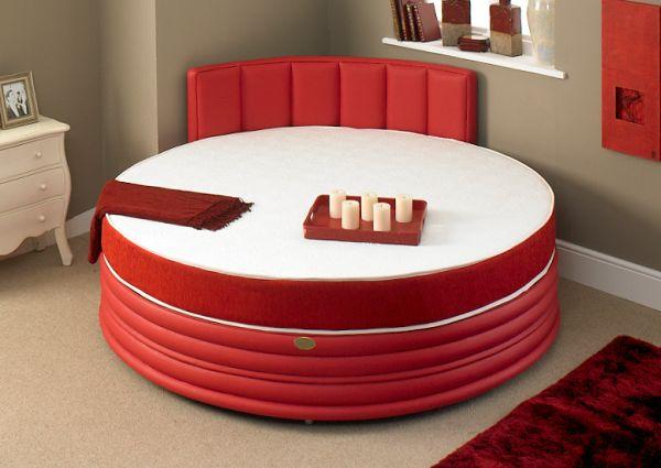 romantische schlafzimmer kerzen ein rundbett im schlafzimmer pro und conrta - Schlafzimmer Kerzen