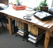 21 DIY Schreibtische aus Europaletten – Geld sparen und individuell einrichten