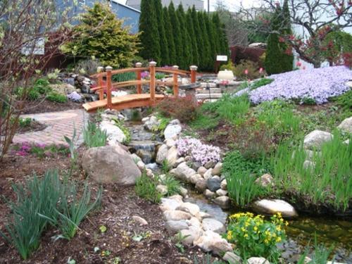 Teichbr cke selber bauen tolle bilder f r ihre for Gartengestaltung asiatischen stil