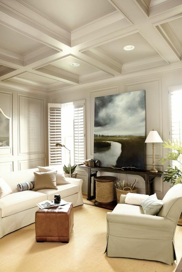 wandgestaltung wohnbereich kunstwerk nicht aufgehängt