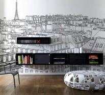 Innovative Wandtattoos – das neue Aussehen der Fototapete oder nicht?