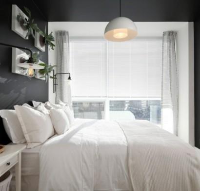 wohnideen und tipps, wie sie ihre wohnung erhellen können - Schlafzimmer Komplett Schwarz Weiss