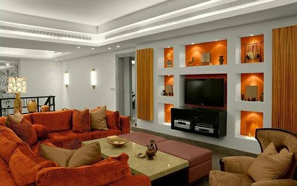 wohnzimmer hochglanz grau | wohnzimmer ideen - Wohnzimmer Grau Orange