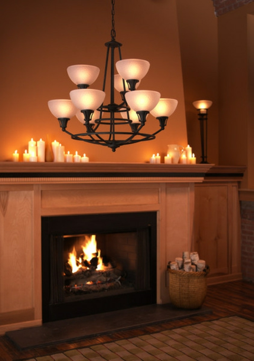 Romantisches schlafzimmer mit kerzen  Wie können Sie romantische Beleuchtung zu Hause kreieren?