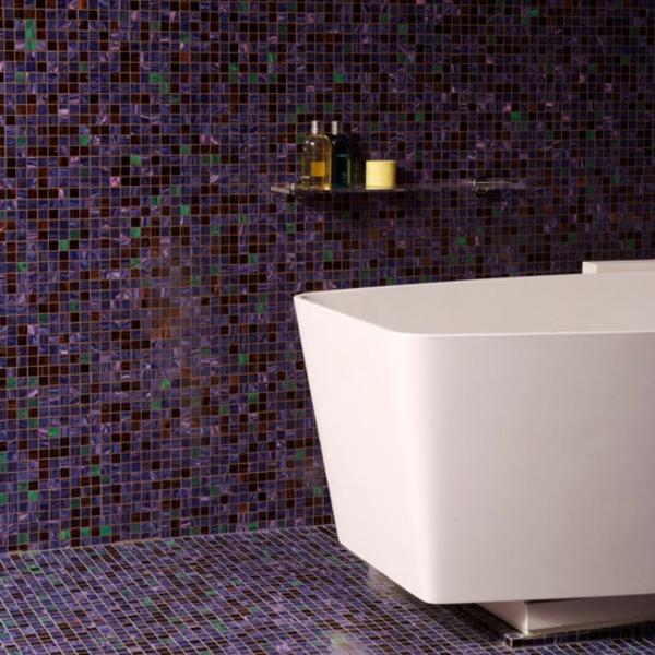 40 badezimmer fliesen ideen - badezimmer deko und badmöbel - Mosaik Fliesen Bad Ideen