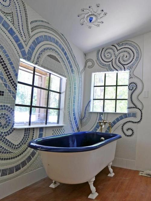 farben designs badewanne Badezimmer und Badezimmerfliesen