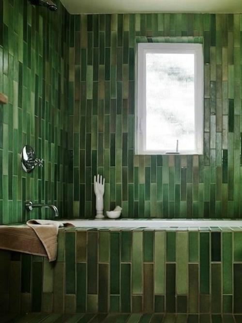 farben designs dunkel grün Badezimmer und Badezimmerfliesen