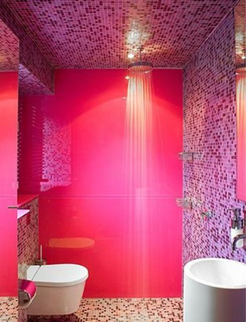 pinke badezimmer fliesen badezimmer blog. Black Bedroom Furniture Sets. Home Design Ideas