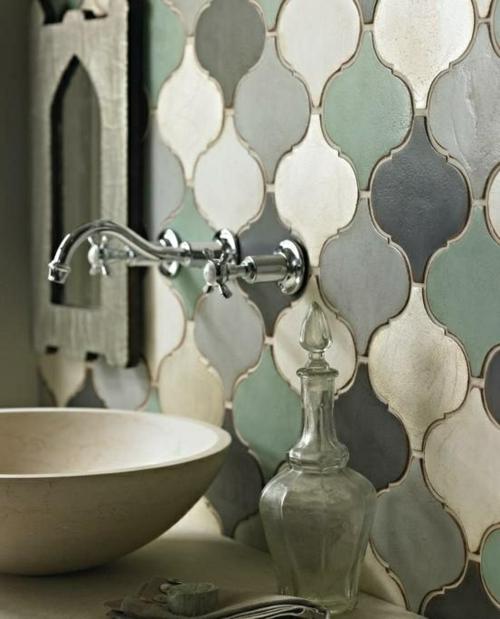 farben designs klassisch Badezimmer und Badezimmerfliesen