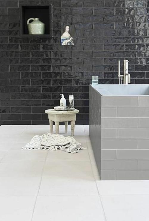 designs schwarz weißBadezimmer und Badezimmerfliesen