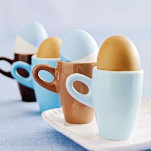 eierhalter haltegriffe Bastelideen Ostern