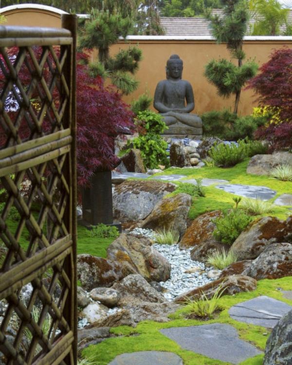 Buddha Figuren Im Garten Verw 246 Hnen Sie Ihren Geist