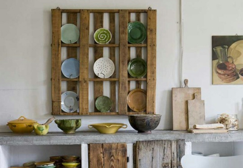 Coole Möbel DIY bastelideen küchen schrank Europaletten
