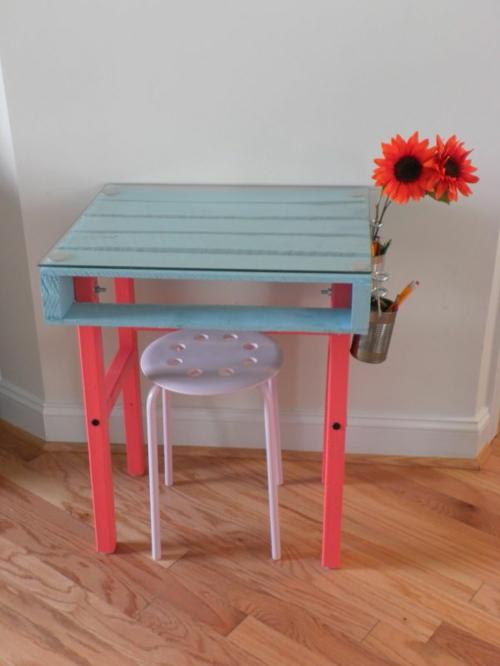 Coole Möbel DIY bastelideen nebentisch Europaletten