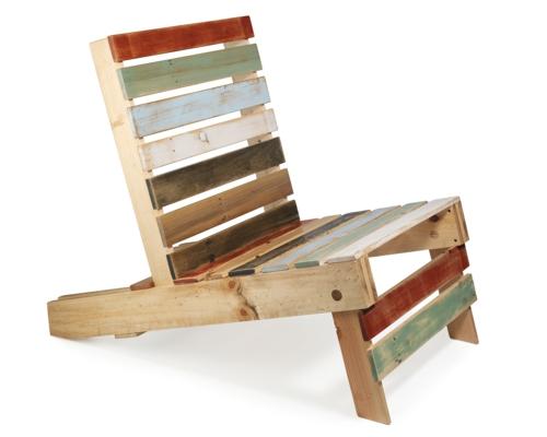 Coole Möbel bastelideen stuhl Europaletten DIY