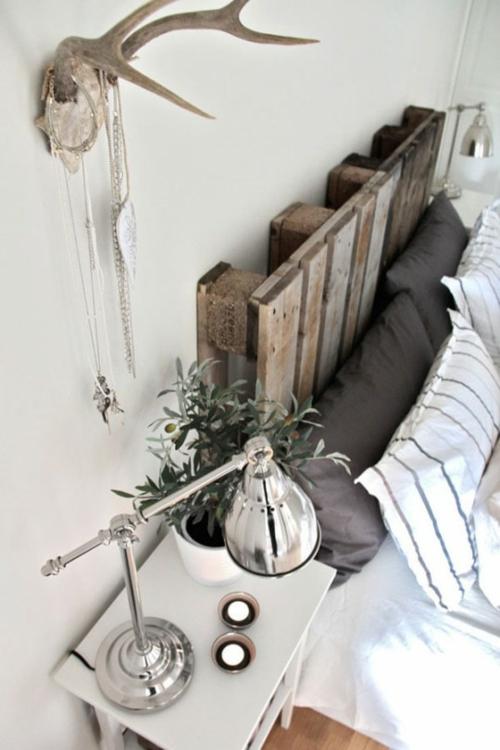 bastelideen weiß küstennah Coole Möbel aus Europaletten DIY