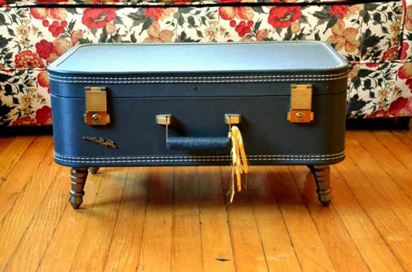 wohnzimmertisch koffer