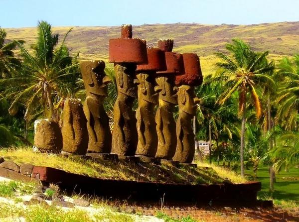 natur palmen grün Die erstaunlichen Osterinseln chile