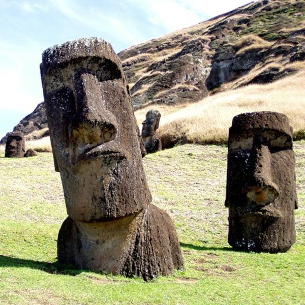 Osterinseln einwohner moai Die erstaunlichen Osterinseln
