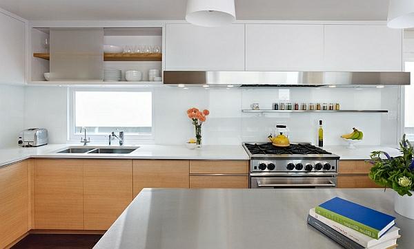 minimalistisch Farben für Küchenschränke einrichtung holz