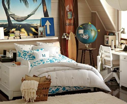 exotisch akzente schüler Farbgestaltung fürs Jugendzimmer