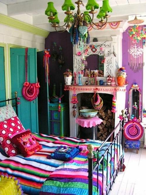 kitchig orientalisch Farbgestaltung fürs Jugendzimmer mädchen