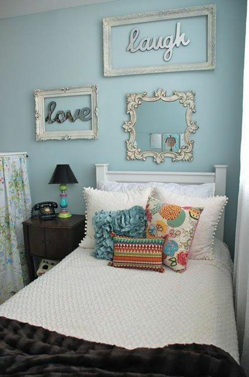 mädchen Farbgestaltung Jugendzimmer  rahmen vintage