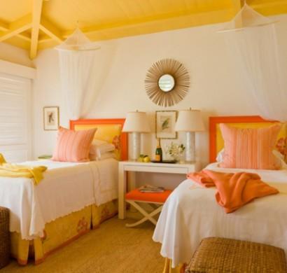 Farbgestaltung Und Wandfarben Ideen U2013 7 Geniale Ideen Für Den Umgang  Mit Gelb Und Orange