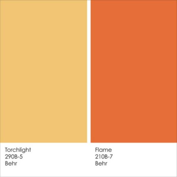 Mediterrane Wandfarben farbgestaltung und wandfarben ideen - umgang mit gelb und orange