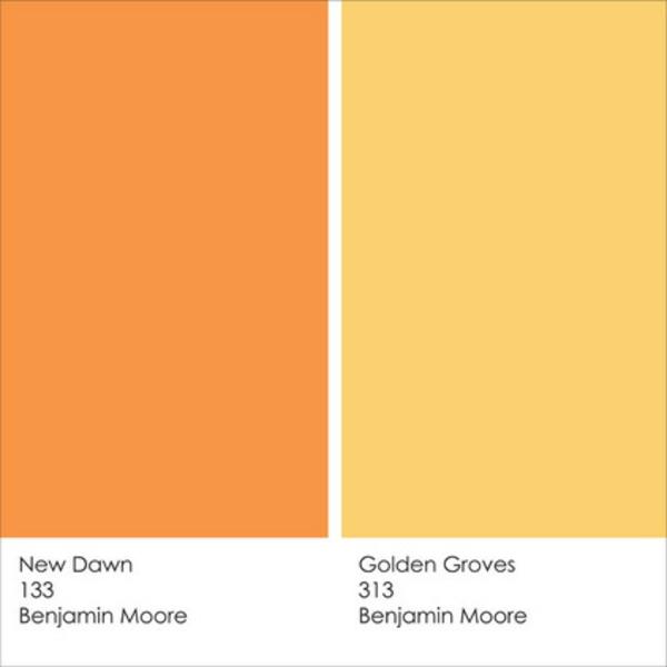 Farbgestaltung und Wandfarben Ideen new dawn golden groves