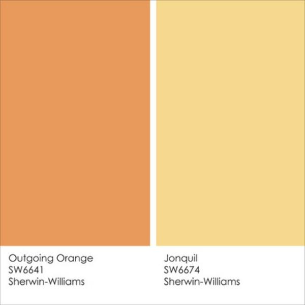 Wandfarbe Gelb: Farbgestaltung Und Wandfarben Ideen