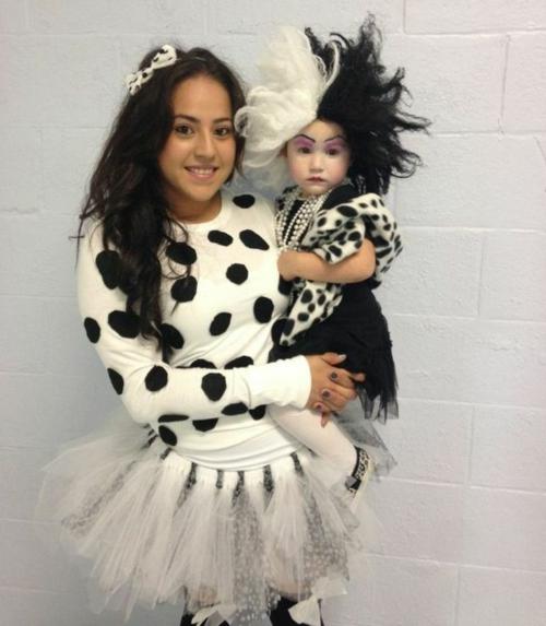 Faschingsideen und Karneval Kostüme dalmatiner böse kruela devil