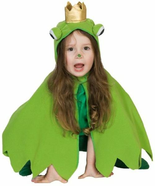 Faschingsideen und Karneval Kostüme frosch grün süß