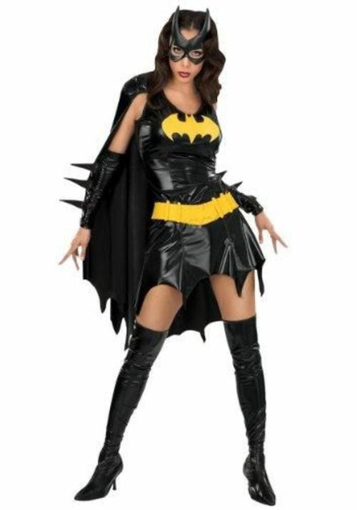 Faschingsideen Karneval Kostüme katzenfrau catwoman